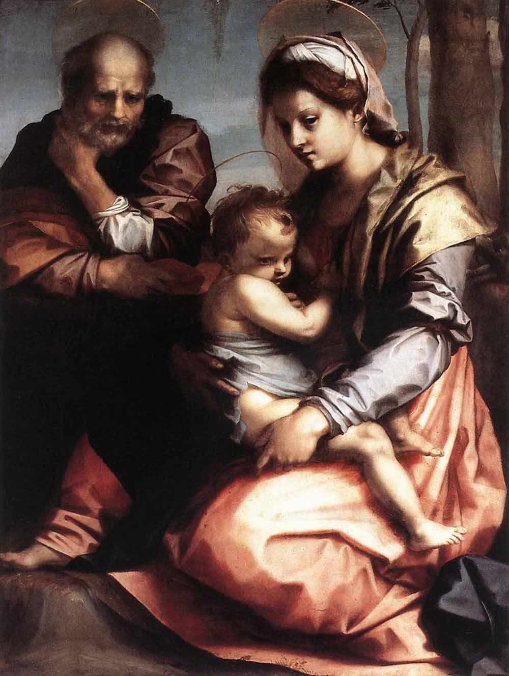 Святое семейство барберини 1528