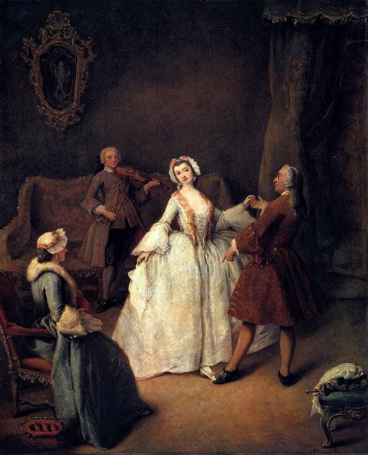 Пьетро лонги урок танца