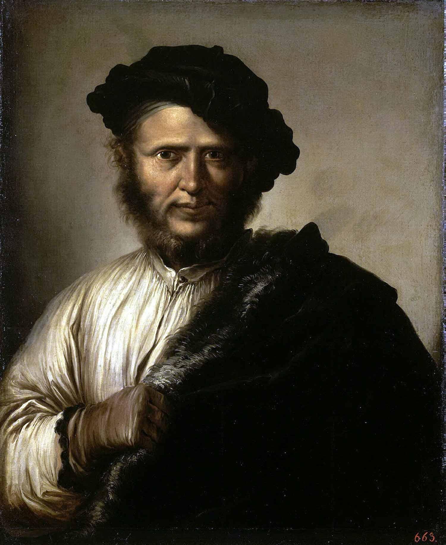 Роза Сальваторе. Мужской портрет