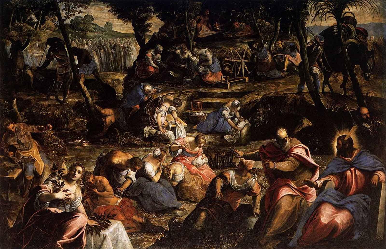 religious artists tintorettos life essay